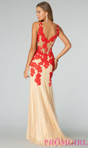 jovani red lace prom dress prom dress guide