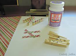 christmas clothespin craft idea