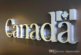 2018 stainless steel letters channel letters metal letters 3d
