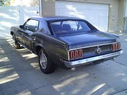 1969 mustang rear pics of my 1969 mustang grande project ford mustang forum