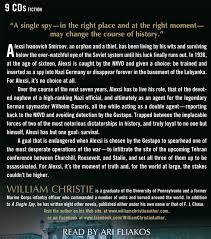 William Christie Amazon Com A Single Spy 9781427283276 William Christie Ari
