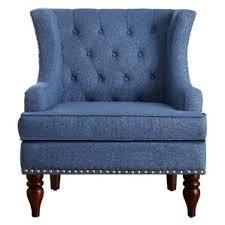 Blue Suede Chair Blue Accent Chairs You U0027ll Love Wayfair