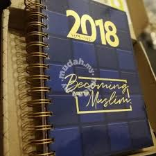 2018 islamic planner diary music movies books magazines for sale