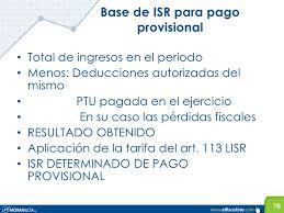 tablas y tarifas isr pagos provisionales 2016 declaración anual personas físicas