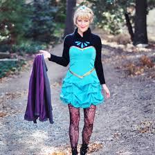 diy elsa costume stylegawker