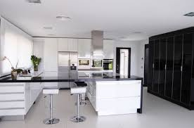 white modern kitchen rectangle white solid wood kitchen table