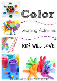 learning activities kids love