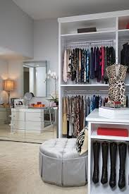 Make Up Dressers Mirror Dressers With Dressing Room Closet Transitional And Chrome