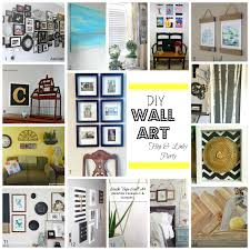 diy romantic industrial frames wall art blog hop pocketful of