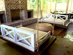 Daybed Porch Swing Rustic Daybed Porch Swing Bistrodre Porch And Landscape Ideas