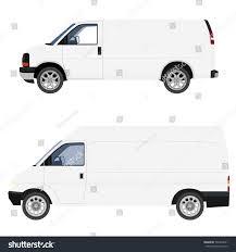 truck van viector illustratration delivery car truck van stock vector