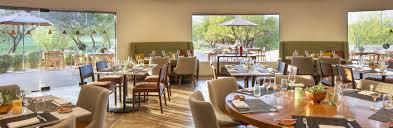 Restaurant Dining Room Tables Palo Verde Dining At The Boulders Resort U0026 Spa Luxury