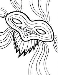 beautiful mardi gras masks beautiful mardi gras mask for the parade coloring page