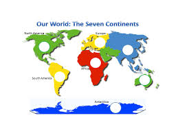 Continents And Oceans Worksheets Showme Continents