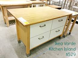 kitchen island ikea ikea varde four drawer kitchen island assembly tutorial
