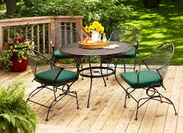 Garden Patio Table And Chairs Better Homes And Gardens Patio Furniture Cushions Custom With