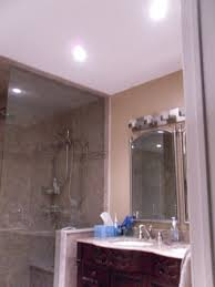Can Lights In Bathroom Stylish Recessed Led Bathroom Lighting Using Low Wattage Par 20