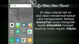 cara merubah kuota hooq menjadi paket menggunakan anonyton update aplikasi anonytun kuota videomax hooq jadi kuota reguler