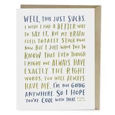 awkward sympathy empathy card emily mcdowell studio