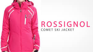 rossignol et ski jacket insulated for women youtube