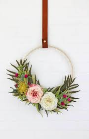 Spring Wreath Ideas Front Door Spring Wreath Ideas On Love The Day