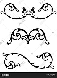 ornamental scrolls vector photo bigstock
