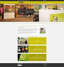 web design home based business web design for dog grooming and pet store in leicestershire