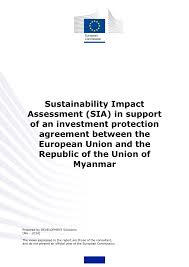 sustainability impact assessment sia support investment