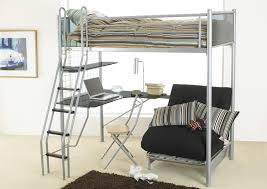 futon bunk bed with desk loft bed with desk underneath with many