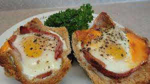 ham and egg breakfast cups with yoyomax12 youtube