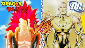 dbz vs dc gogeta super saiyan god 3 vs prime superman personal