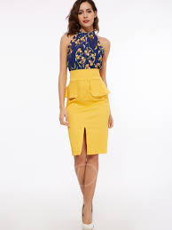 sheath dress asymmetrical patchwork halter women s sheath dress tbdress