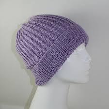 Christmas Tree Hat Knitting Pattern 4 Ply Fishermans Rib Unisex Beanie Hat Knitting Pattern By