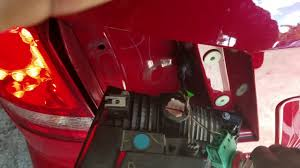 dodge journey tail light 2015 dodge journey reverse bulb replacement youtube