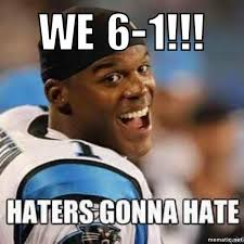 Can Am Meme - the undefeated carolina panthers are 6 0151 1 according to meme
