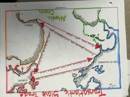 Map Of The 13 Colonies Transatlantic Slave Trade Answers Jpg