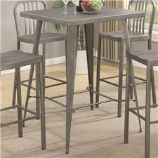 Small Bar Table And Chairs Coaster 10593 5 Piece Metal Bar Table Set Dunk U0026 Bright