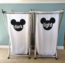 Stainless Steel Laundry Hamper by Merryweather U0027s Cottage Diy Mickey Laundry Hamper Labels