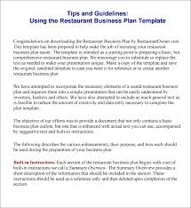 simple business plan template best word free basic intende cmerge