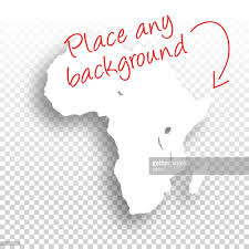 Blank Maps Of Africa by Africa Map For Design Blank Background Vector Art Getty Images