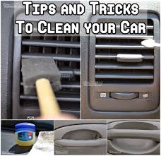 tips and tricks clean your car cleaning organization