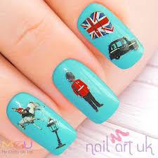 british water decal nail stickers nail art uk