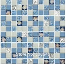 Popular Sea Glass BacksplashBuy Cheap Sea Glass Backsplash Lots - Sea glass backsplash