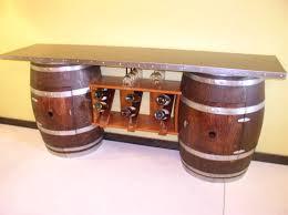 Wine Barrel Bar Table Whiskey Barrel Ideas Barrel Table U0026 Wine Rack Wine Whisky