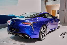 lexus lc in blue 2016 lexus lc500h shows up in stunning blue exterior in geneva is
