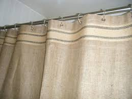 Burlap Shower Curtains Burlap Shower Curtain Walmart Burlap Shower Curtain With Bullion