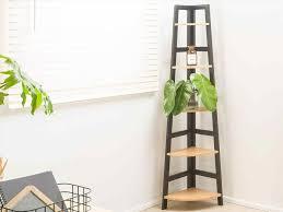 Wooden Ladder Bookcase by Mocka Ladder Shelf Amiphi Info