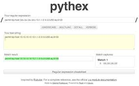 using python to generate cisco configs not always the network