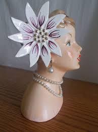 Napco Lady Head Vase 151 Best Napco Head Vase Images On Pinterest Vase Birthday