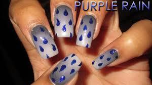 purple rain in memory of prince nail art april 2016 5 diy